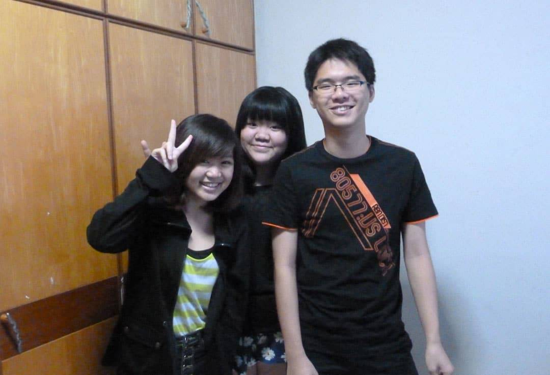 photo of 3 person during poa class