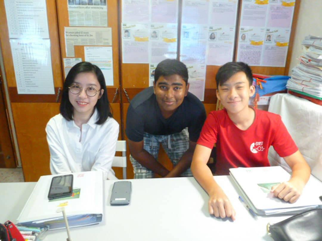 photo of 3 person during poa class 2