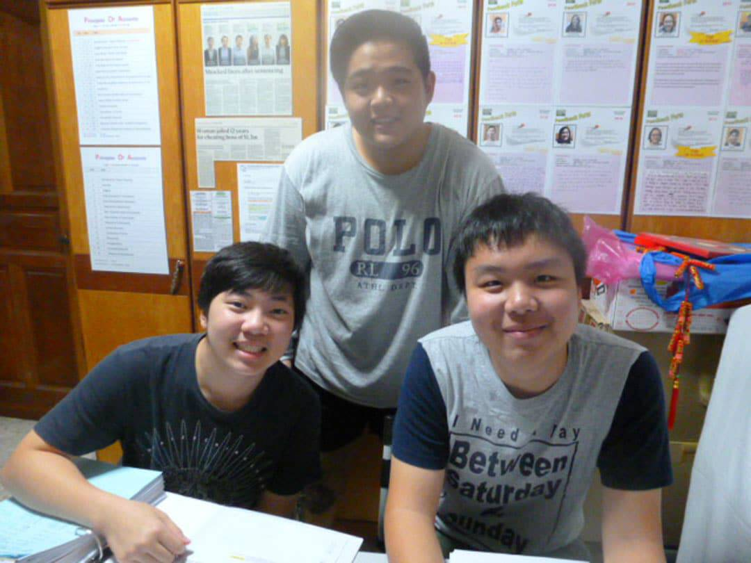 Photo of 3 boys with Happy Faces
