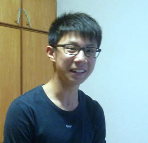 Photo of Dillon Lau from Zhonghua Sec School