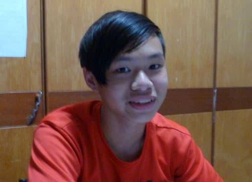 Kevin Ooi from Geylang Methodist Sec School