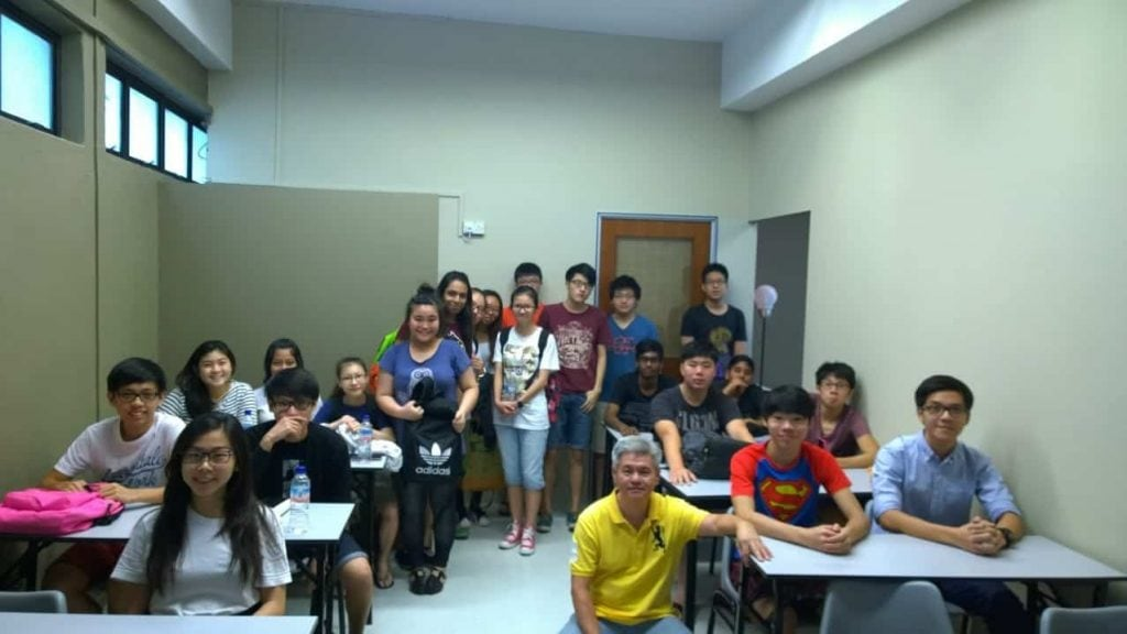 Group photo during a best poa tuition session