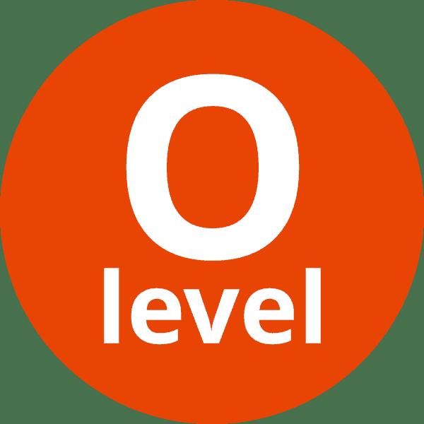 O level icon
