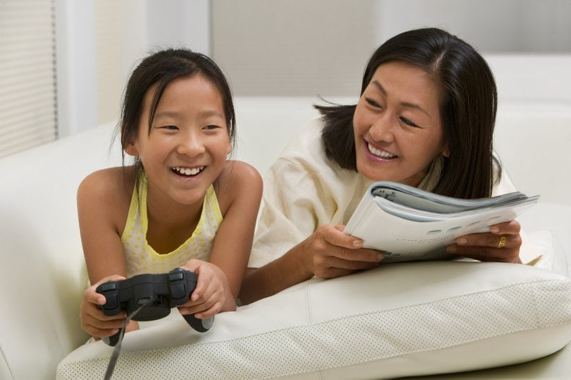 playing video games to relieve stress